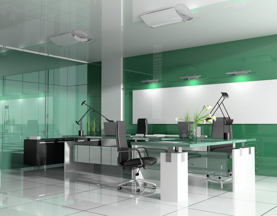 bureau moderne, location de bureau