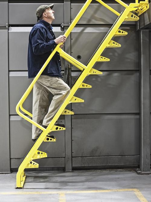 un escalier métallique sur mesure à Lyon